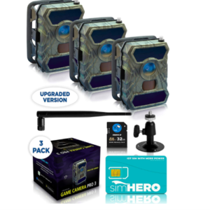 AWESOME CREATIVE XP 3G Cellular Trail Cameras
