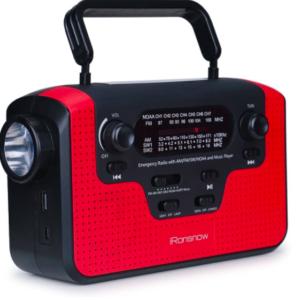 Real NOAA Alert Weather Radio with Alarm