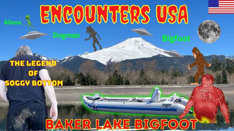 Baker Lake Bigfoot On the Hunt For Soggy Bottom LG