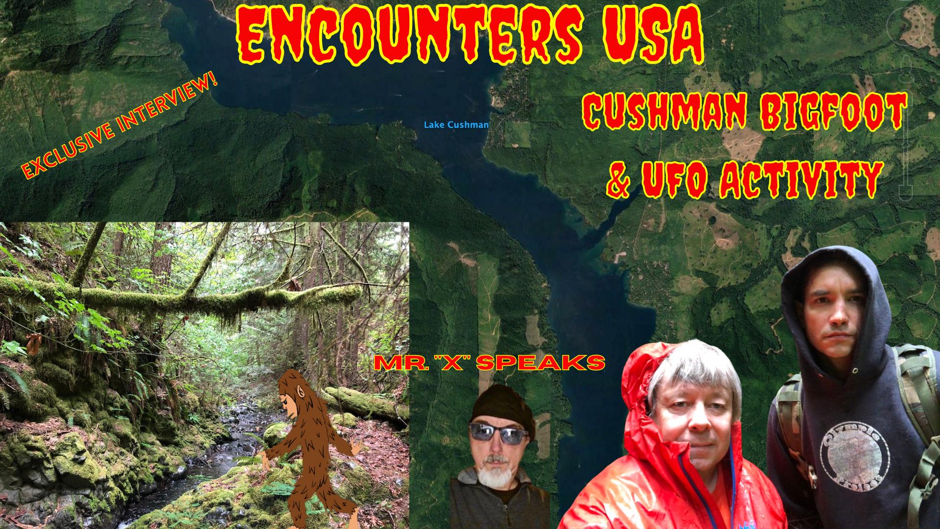 Lake Cushman Bigfoot