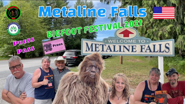 Metaline Falls Bigfoot Festival Press Pass